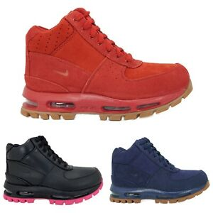 NIKE AIR MAX GOADOME (GS) BOYS GIRLS YOUTH BOOTS [ RED / BLUE / BLACK ]
