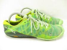 Merrell Vapor Glove 3 Womens 10 Green Barefoot Trail Running Shoes Vibram Hiking