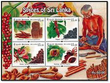 Sri Lanka stamps Spices of Sri Lanka 2019 MS
