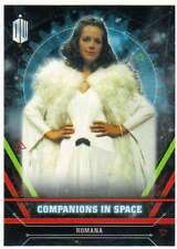 2016 Topps Doctor Who Exraterrestrial Companions in Space #5 Romana