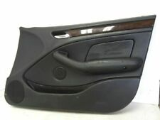 01-05 BMW 325I 2.5 AT SEDAN RIGHT FRONT DOOR TRIM PANEL W/ SPEAKER BLACK OEM