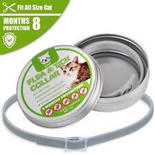 Adjustable Dog Cat Flea Collar Kill Repel Flea Egg Mosquitoe Anti Tick Necklace