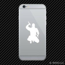 (2x) Ninja Cell Phone Sticker Mobile many colors