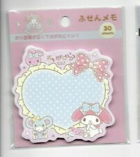 Sanrio My Melody Sticky Notes Bows Dots