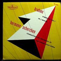 SCHERCHEN brahms symphony no 1 LP VG+ WL 5189 Vinyl 1953 Westminster USA Mono