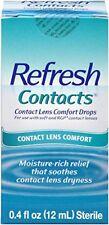 Solución Limpiadora Hidratante En Gotas Para Lentes De Contacto Refresh