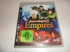 PlayStation 3  PS 3  Dynasty Warriors 6: Empires