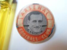 TRES RARE - ARSENAL - Georges Swindin - Pin's Football UK - Année 40' - 3 Photos
