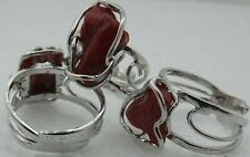 italian red coral rings,silver,made in italy corail rouge,红珊瑚鉴别 branches