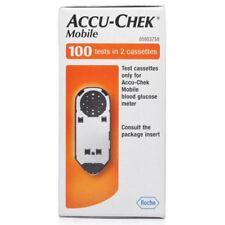 ACCU-CHEK MOBILE GLOOD GLUCOSE 100 TESTS IN 2 CASSETTES ACCU CHEK GLUCOSE METER