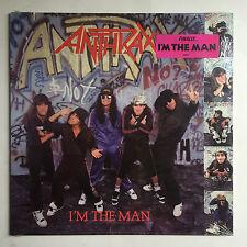 ANTHRAX - I'M THE MAN * 12 INCH VINYL MINT * FREE P&P UK * USA IMPORT MEGAFORCE