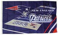 NEW ENGLAND PATRIOTS FIELD 3x5ft flag superior quality GENUINE NFL Lic us