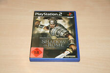 Shadow Of Rome (Sony PlayStation 2, 2005, DVD-Box) Top Zustand USK 18