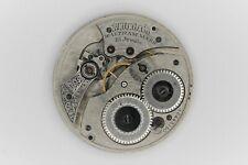 Waltham Grade 220 Pocket Watch Movement 12S 15J Model Parts/Repair SN#16443150