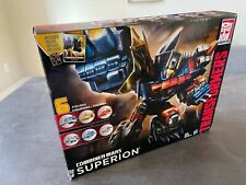 Transformers Combiner Wars Superion Box Set (G2), open box, New Inside