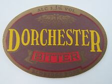 Beer Bar Coaster: DORCHESTER Bitter; Eldridge Pope Thomas Hardy ~ Closed in 1996