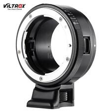 VILTROX NF-NEX Mount Adapter Ring for Nikon G/F Lens to Sony E Mount Camera H8Y1