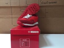 SNEAKER SPACE INVADER RED LTED EDITION SIZE EUR 44 UK 9 US 10  KAWS BANKSY