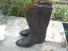 RARES ET SUPERBES BOTTES TEXAS MADE IN USA MARRON T 39 WESTERN COWBOY BE 66€ ACH