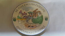 Old English Customs vintage Art Deco antique wall plate – Cowcumbers to Pickle