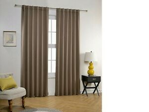 Multi colour soft Thermal Blackout Curtains Bedroom kitchen Kids Room Top Quali