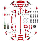 Yeah Racing Tamiya TT-02 Red Aluminum Conversion Kit CK-TT02RD