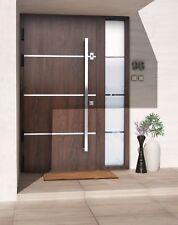 Aluminum Front door Schuco - EXCLUSIVE DOORS EXD 012 + SIDE PANEL