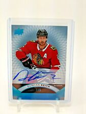 #'d/ 5 17-18 Upper Deck Premier Duncan Keith platinum blue spectrum parallel