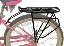 Lumintrail Adjustable Bicycle Rear Frame Mounted Cargo Rack for Non-Disc Bikes