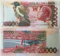 ST.THOMAS 20000 DOBRAS 2013 P 67 d UNC