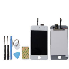 FRAME PER APPLE IPOD TOUCH 4 SCHERMO BIANCO+TOUCH SCREEN + LCD DISPLAY RETINA