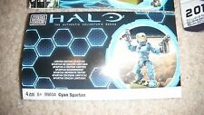 Halo Cyan Spartan Mega Blocks NIB sealed baggie NEW RARE
