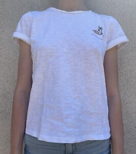 T-shirt Little Karl Marc John Blanc 12A