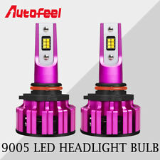 Dual Color LED Headlight Kit 9005 HB3 H10 9145 Yellow & White Bulbs 70W 7200LM