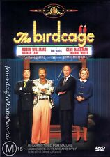 THE BIRDCAGE 1996 ROBIN WILLIAMS DVD NEW SEALED R4 (BOOKLET INCLUDED)