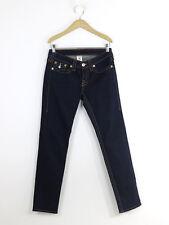 True Religion Womens Indigo Straight Leg Jeans Size 28
