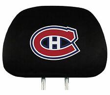 Team ProMark NHL Hockey 2-Piece Montreal Canadiens Auto Car Headrest Covers