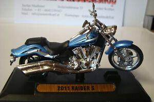 Yamaha Raider S 2011 ( VX 1900 S) Blue - 1:18 Motor Max