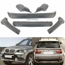 BMW X5 E70 AERO Style BodyKit, Front Spoiler Addon and Rear Spoiler Addon 7Parts