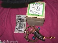 ALCO Controls TCLE 5 HW Angle Type Thermo Valve New Old Stock Range -10 F -+50F