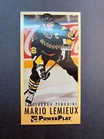 1993-94 Fleer Power Play Tall Boy #190 Mario Lemieux Pittsburgh Penguins