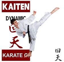 KAITEN Karateanzug New DYNAMIC + Tasche Gr 170 cm Neue Version Karategi NEU