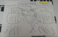 Kimo Leopoldo Signed 18x24 Hand Drawn Sketch PSA/DNA COA UFC Pride FC Autograph