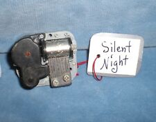 Silent Night Wind Up Music Box Part Hardware