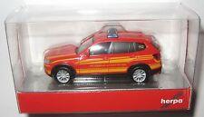 Herpa 092050 BMW X3 Kommandowagen Feuerwehr Vaterstetten 1:87 HO
