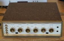 Sherwood S-5000 Tube Amplifier 230 VAC  Telefunken / Valvo ECC83