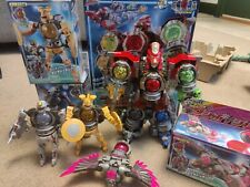 Power Rangers Uchu Sentai Kyuranger DX megazord  Set BANDAI Japan
