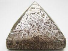 GENUINE GIBEON IRON METEORITE PYRAMID 17 x 12 mm - 16.9 grams
