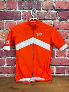 Stolen Goat Orkaan Everyday Medium Men's Sleeve Short Orange Cycling Jersey