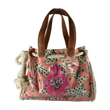 NWT Juicy Couture Pink Flower XL Daydreamer Handbag Tote Day Dreamer